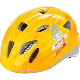 Alpina Ximo Casque Enfant, orange-rabbit